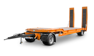 Excavacions Font Plataforma góndola porta maquinària i vehicles