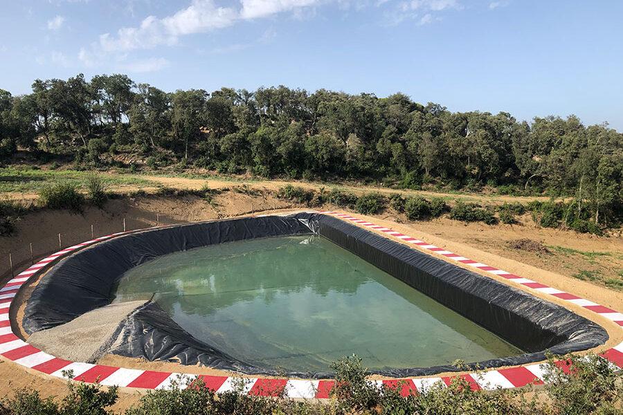 Excavacions font servei de treballs fluvials